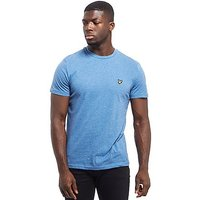 Lyle & Scott Crew Neck Short Sleeve T-Shirt - Blue - Mens