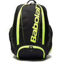 Babolat Pure Tennis Backpack - Black/Yellow - Mens