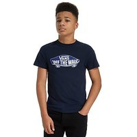 Vans Off The Wall T-Shirt Junior - Navy/Blue - Kids