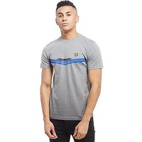 Lyle & Scott Mclean Graphic T-Shirt - Grey - Mens