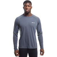Berghaus Tech Long Sleeve T-Shirt - Dark Grey - Mens