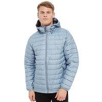 Columbia Powder Lite Hooded Jacket - Grey - Mens