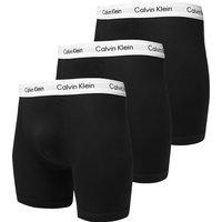 Calvin Klein 3-Pack Boxer Shorts - Black - Mens, Black