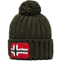 Napapijri Semiury Bobble Hat - Green - Mens