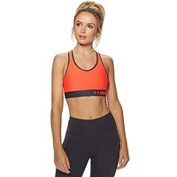 Under Armour Mid Sports Bra - Red - Womens