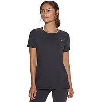 Under Armour Heatgear Armour SS T-Shirt - Black - Womens