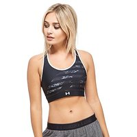Under Armour Mid Reversible Sports Bra - Black - Womens