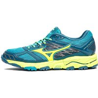 Mizuno Wave Mujin 4 Womens - Teal/Yellow - Womens