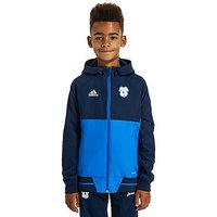 adidas Cardiff City FC 2017 Presentation Jacket Junior - Navy - Kids