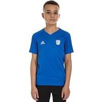 adidas Cardiff City 2017 Training Shirt Junior - Blue - Kids
