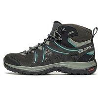 Salomon Ellipse 2 Mid GTX Hiking Boots Womens - Black/Grey - Womens