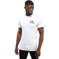 Vans Stamp T-Shirt - White/Red - Mens