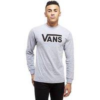 Vans Flying Long-Sleeved T-Shirt - Black - Mens