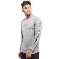 Vans Side Waze Crew Sweatshirt - Grey - Mens