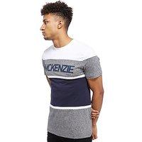 McKenzie Helm T-Shirt - Grey/White - Mens