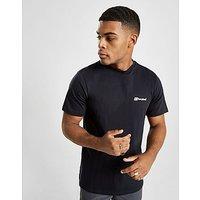 Berghaus Block Logo T-Shirt - Black - Mens