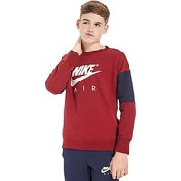 Nike Air Crew Sweatshirt Junior - Red/Navy - Kids
