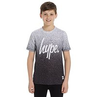 Hype Speckle Fade T-Shirt Junior - Black/White - Kids