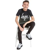 Hype Speckle T-Shirt Junior - Khaki/Black - Kids