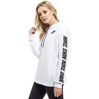 Nike Advance 15 Hoodie - White/Black - Womens