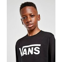 Vans Classic Long Sleeved T-Shirt Junior - Black/White - Kids