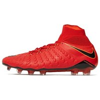 Nike Fire and Ice Hypervenom Phantom II FG - Red - Mens