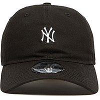 New Era 9Forty New York Yankees Mini Logo Baseball Cap - Black - Mens