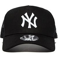 New Era MLB New York Yankees Snapback Trucker Cap - Black - Mens