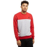 Jordan Cement Crew Sweatshirt - Red - Mens