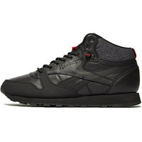 Reebok Classic Leather Mid - Black/Red - Mens