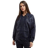 adidas Originals Tonal Camo Windbreaker - Navy - Womens