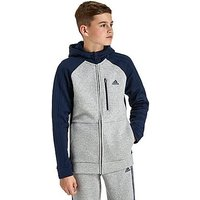 adidas Hybrid Hoodie Junior - Grey/Navy - Kids