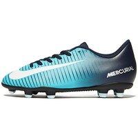 Nike Fire and Ice Mercurial Vortex FG Children - Blue - Kids