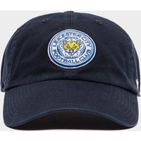 47 Brand Leicester City FC Clean Up Cap - Navy - Mens, Navy