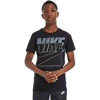 Nike Split Futura T-Shirt Junior - Black - Kids
