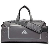 adidas Medium Training Bag - Grey/Yellow - Mens
