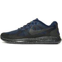 Nike Free Run Shield Womens - Black/Blue - Womens