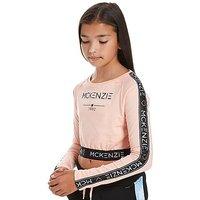 McKenzie Girls Misty Long Sleeve T-Shirt Junior - Pink - Kids