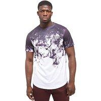 Supply & Demand Submerge T-shirt - White/Grey - Mens