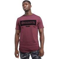 Supply & Demand Sleepy Gothic T-Shirt - Burgundy - Mens