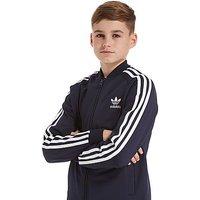 adidas Originals Superstar Track Top Junior - Blue Ink/White - Kids