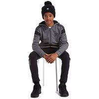 adidas Originals Europe Full Zip Hoodie Junior - Grey/Black - Kids