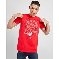 Official Team Liverpool FC YNWA T-Shirt - Red - Mens
