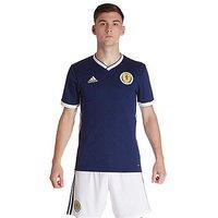 adidas Scotland 2017/18 Home Shirt - Navy - Mens