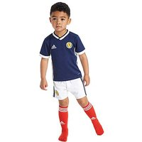 adidas Scotland 2017/18 Home Kit Children - Navy/White - Kids
