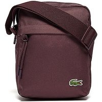 Lacoste Small Items Pouch Bag - Burgundy - Mens