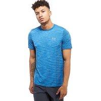 Under Armour Threadborne T-Shirt - Blue - Mens