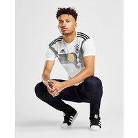 adidas Germany 2017/18 Home Shirt - White/Black - Mens