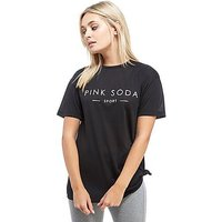 Pink Soda Sport Reps Knot T-Shirt - Black - Womens