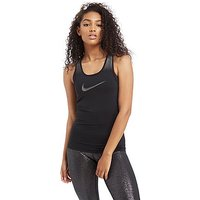 Nike Pro Sparkle Tank Top - Black/Silver - Womens